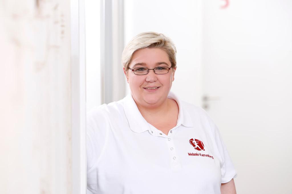 Orthopädie Velbert - Dr. Kindhäuser & Dr. Laserich - Team - Melanie