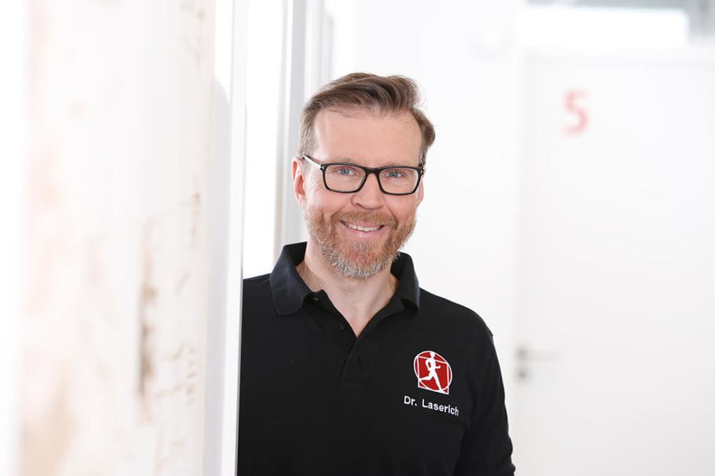 Orthopädie Velbert - Dr. Kindhäuser & Dr. Laserich - Team - Portrait von Dr. Laserich