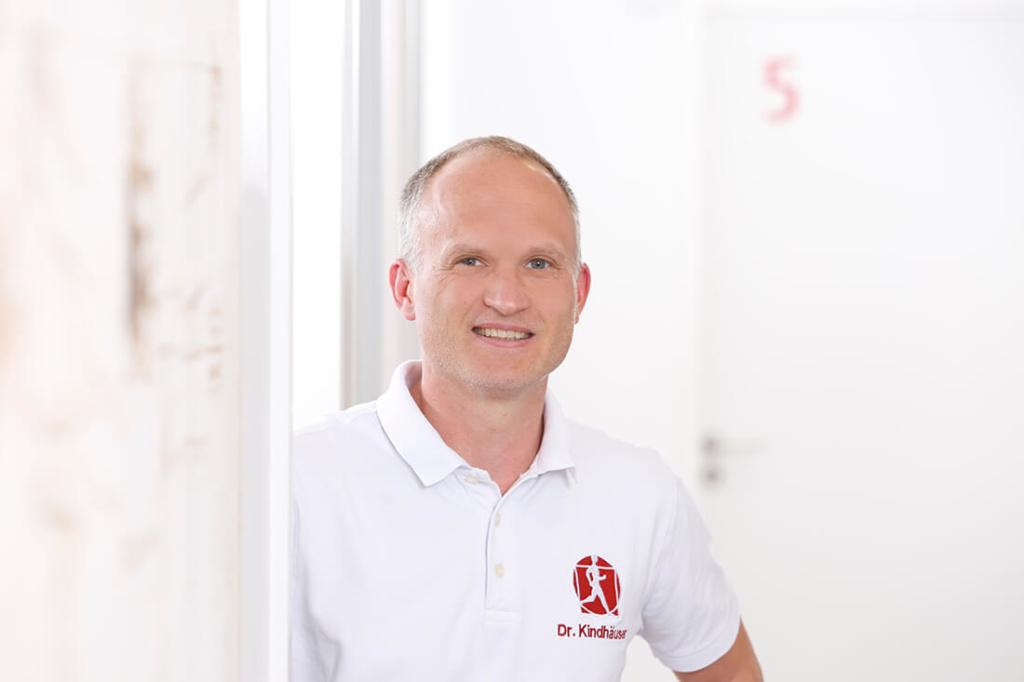 Orthopädie Velbert - Dr. Kindhäuser & Dr. Laserich - Team - Portrait von Dr. Kindhäuser