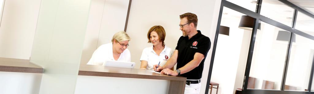 Orthopädie Velbert - Dr. Kindhäuser & Dr. Laserich - Team