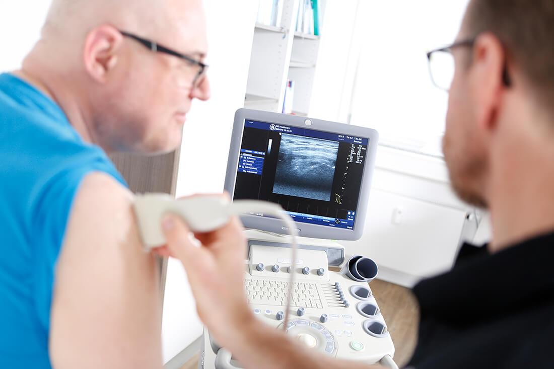 Orthopädie Velbert - Dr. Kindhäuser & Dr. Laserich - Ultraschall zur Diagnostik